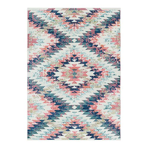 Surya Astra Geometric Distressed Traditional Area Rug