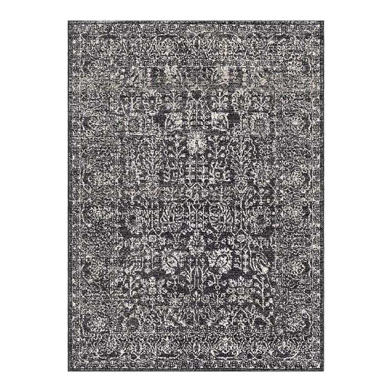Decor 140 Sofia Abstract Rug, Black, 5X7 Ft