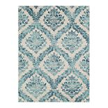 Decor 140 Astra Distressed Geometric Medallion Area Rug