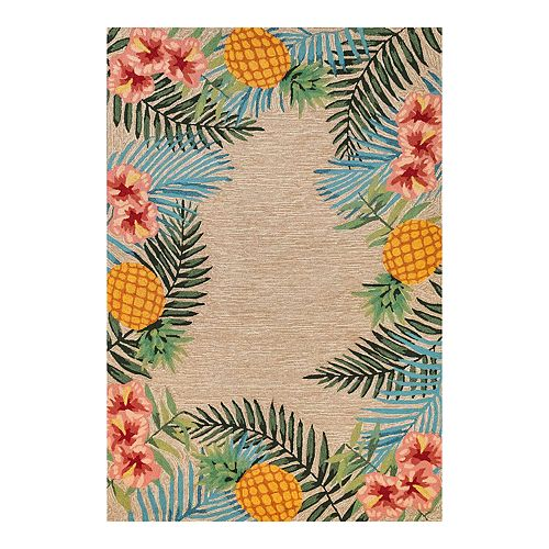 Liora Manne Ravella Tropical Indoor Outdoor Rug