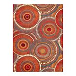 Liora Manne Marina Circles Indoor Outdoor Rug