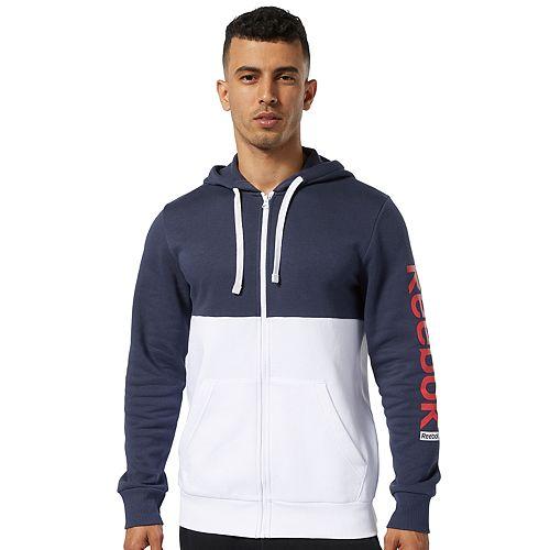 Men's Reebok Training Essential Logog Full-Zip Hoodie