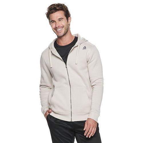 Men's Reebok Training Essentials Full-Zip Fleece Hoodie