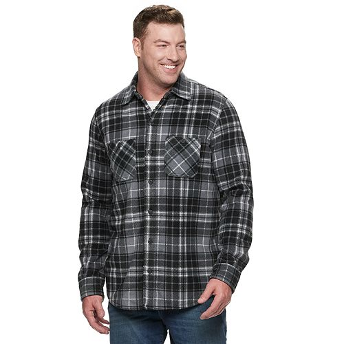 Big & Tall Anchorage Expedition Fleece Shirt Jacket