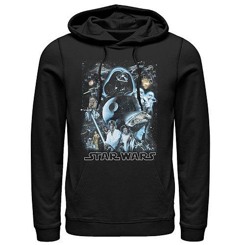 Men's Star Wars Classic Galaxy Pullover Hoodie