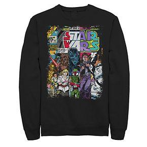 Men's Star Wars Comic Strip Sweatshirt