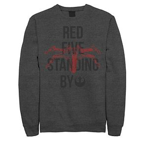 "Men's Star Wars ""Red Five Standing By"" Sweatshirt"