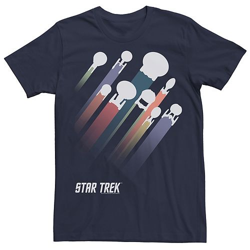Men's Star Trek Ship Streaks Tee