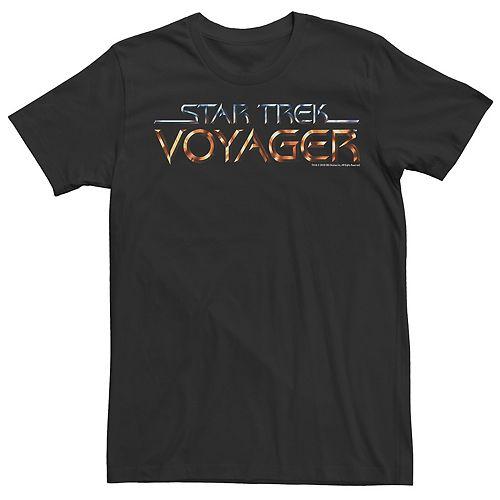 Men's Star Trek Voyager Logo Tee