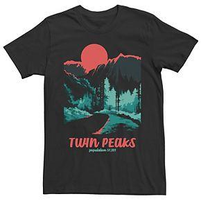Men's Twin Peaks Poster Tee