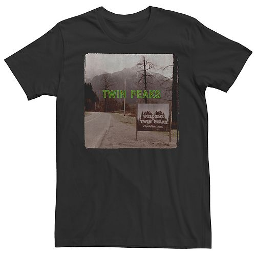 Men's Twin Peaks Sign Tee