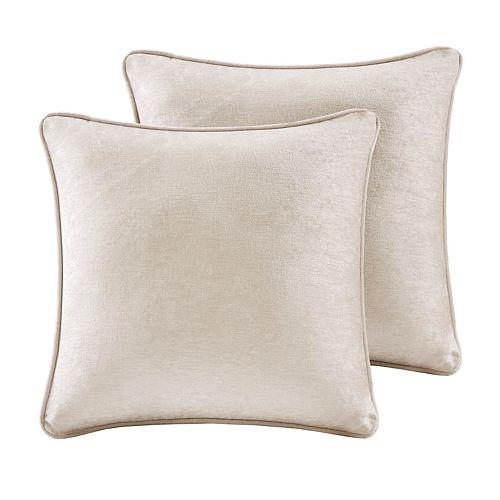 Intelligent Design 2-pack Julian Chenille Square Throw Pillow