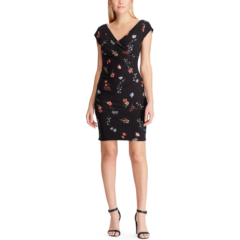 Women's Chaps Surplice Sheath Dress