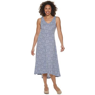 Petite Croft & Barrow® Sleeveless V-Neck Dress