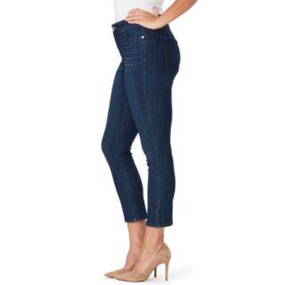 Women's Bandolino Mandie Slip Crop Jeans