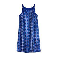 Girls 7-16 Mudd® High Neck Swing Dress