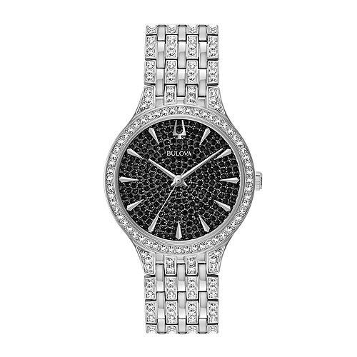 Bulova Women's Crystal Stainless Steel Watch - 96L273