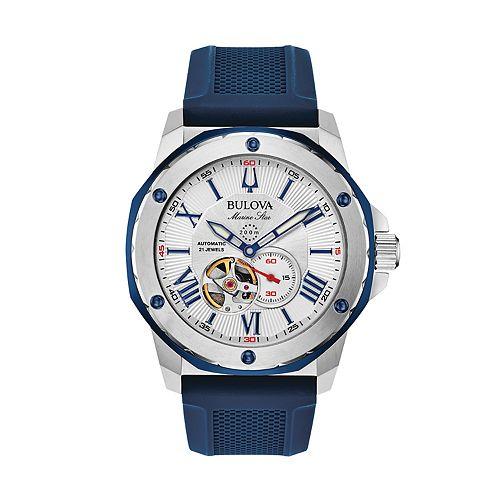 Bulova Men's Marine Star Automatic Watch - 98A225