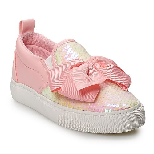 JoJo Siwa Sequin Girls' Low Top Sneakers