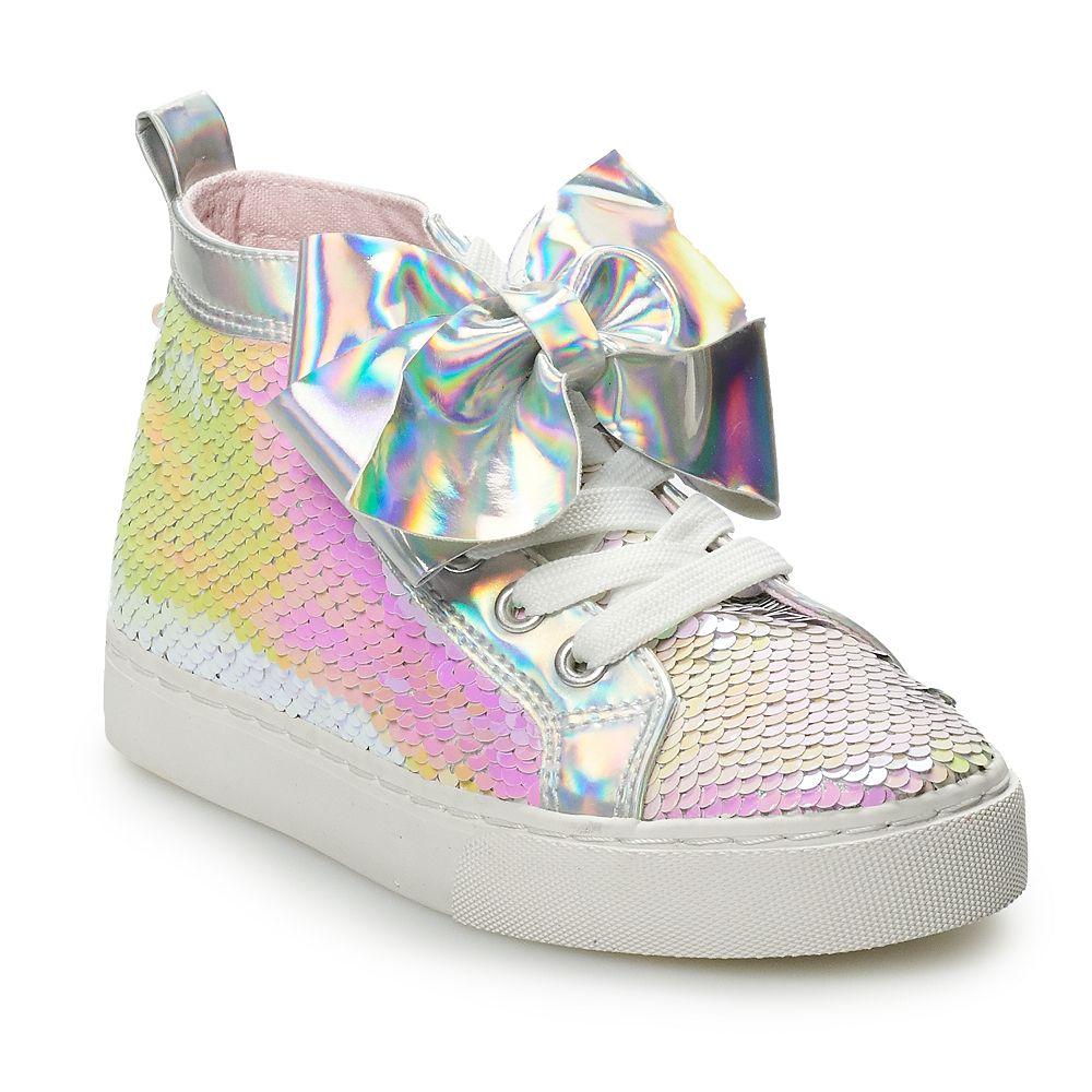 JoJo Siwa Sequin Girls' High Top Sneakers