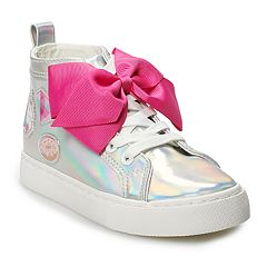 JoJo Siwa Iridescent Girls' High Top Sneakers