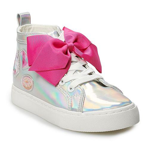 JoJo Siwa Iridescent Girls' High Top Sneakers