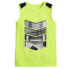 Boys 4-12 Jumping Beans® Sports Pieced Active Muscle Tee