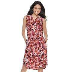 2013e8b2b65 Women s Apt. 9® Sleeveless Shirt Dress