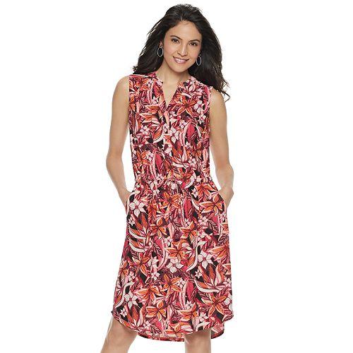 Women's Apt. 9® Sleeveless Shirt Dress