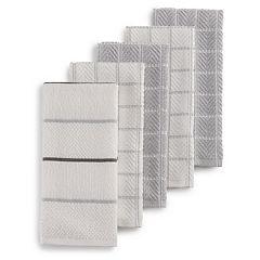 Grey Kitchen Towels & Dish Rags - Kitchen Linens, Kitchen ...