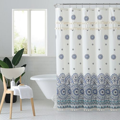 Peach & Oak Miranda Shower Curtain