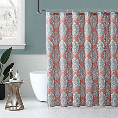 Peach & Oak Zaria Shower Curtain