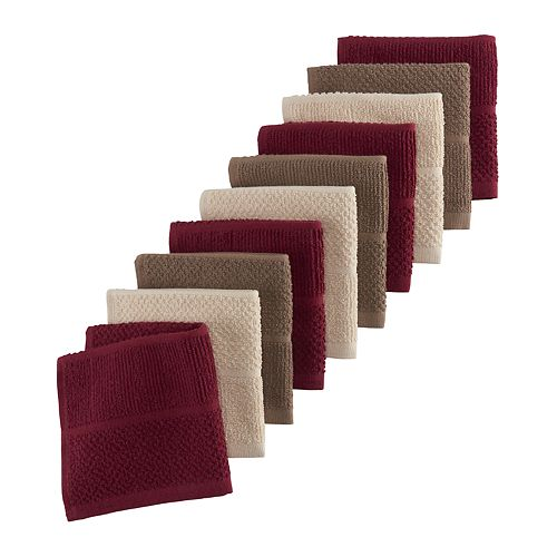 The Big One® Multi-Color Solid Dishcloth 10-pk.