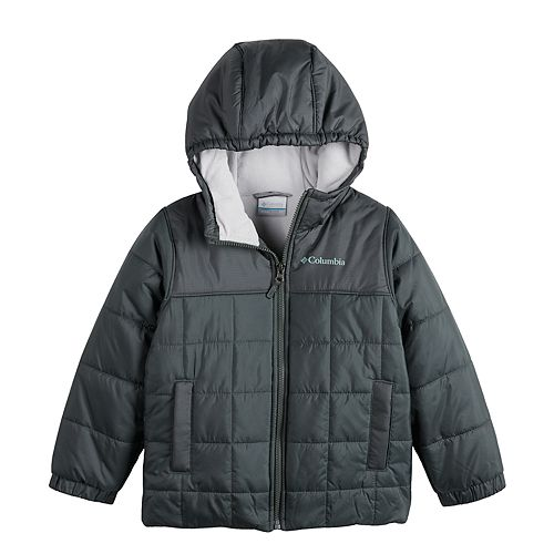 Boys 4-7 Columbia Puffer Hooded Heavyweight Jacket