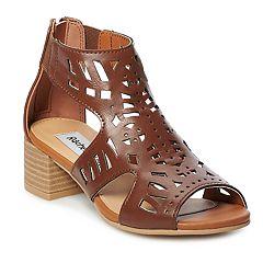 Rachel Shoes Sonia Girls' Caged Heels