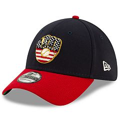 quality design 7130e 3cef1 New Era Stretch Fit 39THIRTY Milwaukee Brewers 4th of July Cap