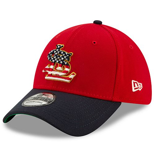 New Era Stretch Fit 39THIRTY St. Louis Cardinals 4th of July Cap