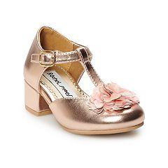 Rachel Shoes Lil Elena Toddler Girls' T-strap Dress Heels