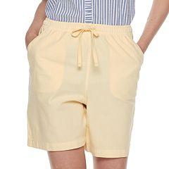 Women's Gloria Vanderbilt Lucy Sheeting Pull-On Shorts