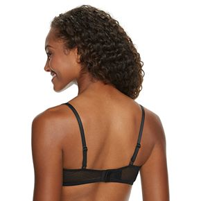 Women's SO® Soft Lace Lightly Line T-Shirt Bra