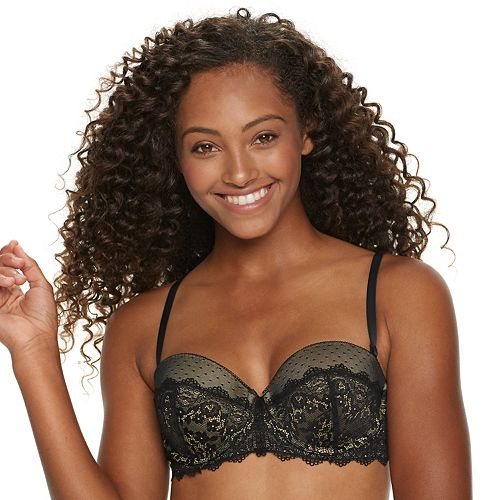 SO® Lace Push-Up Convertible Multiway Bra