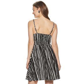Women's Apt. 9® Smocked Short Dress