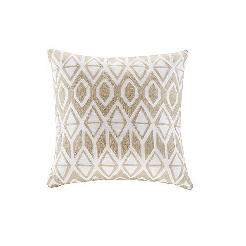 HH Harbor House Anslee Embroidered Square Throw Pillow
