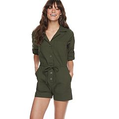 Women's POPSUGAR Long Sleeve Romper
