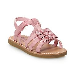 Rachel Shoes Roxana Toddler Girls' T-strap Sandals