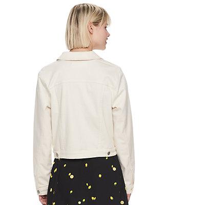 Women's POPSUGAR Denim Cropped Jacket