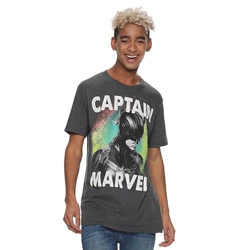 Men's Captain Marvel Graphic Tee
