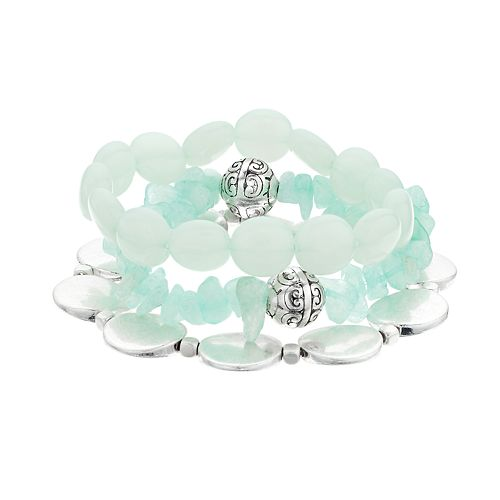 SONOMA Goods for Life™ Multi Stones Stretch Bracelet