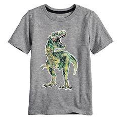 Boys 4-12 SONOMA Goods for Life™ Flip Sequins Dinosaur 'Roar' Top