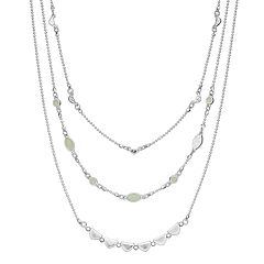 SONOMA Goods for Life™ Multi Stones Short Layered Necklace